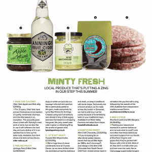 Crumbs Magazine Mint Apple Jelly